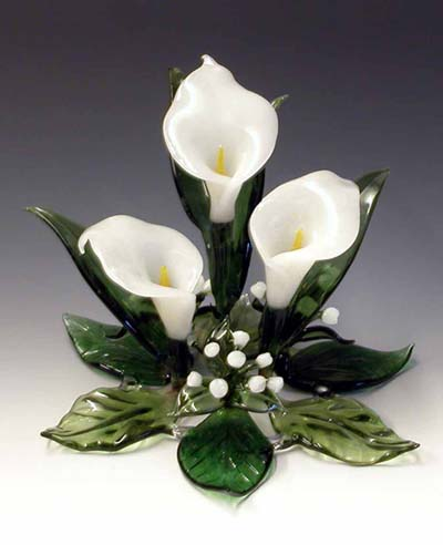 Calla Lilly Cake Topper