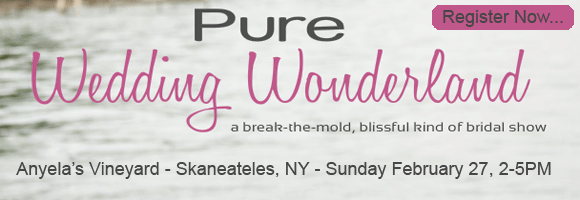 Pure Wedding Wonderland - A Skaneateles Bridal Show