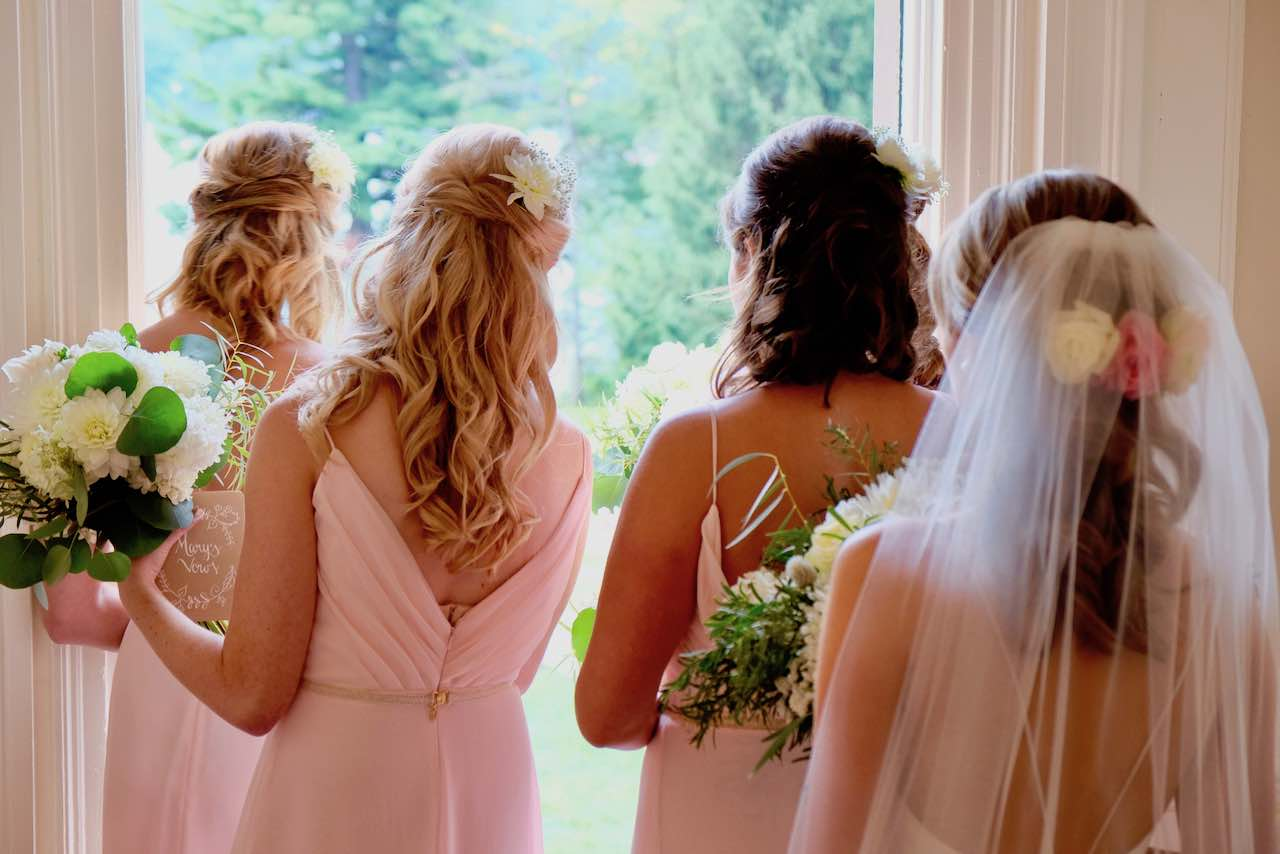 Bridal Party waiting